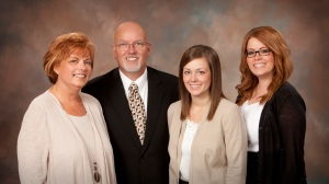 Respectively: Phyllis Alexander, Jeff Alexander, Hayley Slay, and Holli Dennis